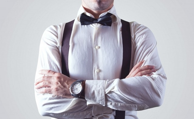 businessman-wearing-bow-tie-and-suspenders